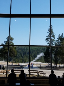 view as you walk in visitors center