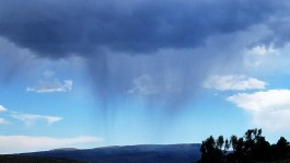 Virga - rain that evaporates before even touching the ground!