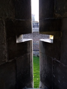 Tower of London arrowslit