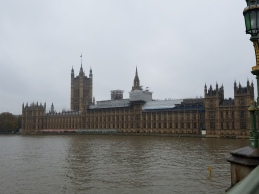 Parliment. We have seen this building on The Crown for weeks, and here it is!