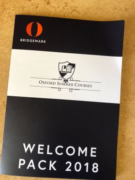 Welcome to Oxford Welcome Packet